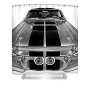 Eleanor Ford Mustang Shower Curtain