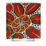 Elec Flower Shower Curtain