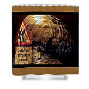 Election Ahead Shower Curtain