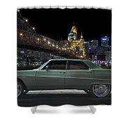 Electracity Shower Curtain