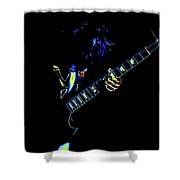 Electric Angus Shower Curtain