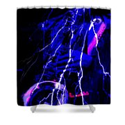 Electric Ave. Shower Curtain
