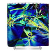 Electric Cellophane Shower Curtain