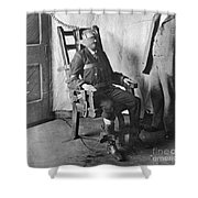 Electric Chair, 1908 Shower Curtain