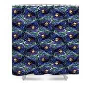 Electric Fence Shower Curtain
