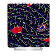 Electric Fish Shower Curtain