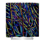 Electric Forest Shower Curtain