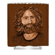 Electric Jerry Desert - T-shirts-etc Shower Curtain