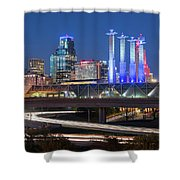 Electric Kc Shower Curtain