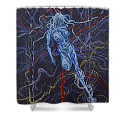 Electric Pain Shower Curtain