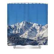 Electric Peak Shower Curtain