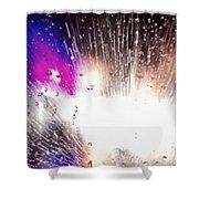 Electric Swim Shower Curtain