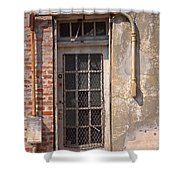 Electrical Door Shower Curtain