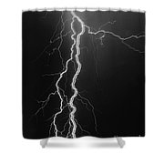 Electrical Pulsation-signed-#039 Shower Curtain