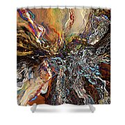Electrical Storm Shower Curtain