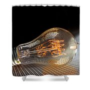 Electricentric Shower Curtain