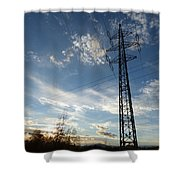 Electrification Shower Curtain