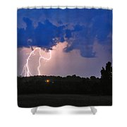 Electrifying Southern Davidson County Shower Curtain