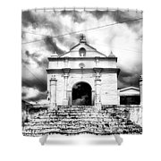 Electronic Blessing Shower Curtain