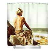 Elegant Classical Beauty  Shower Curtain
