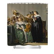 Elegant Company Making Music Shower Curtain