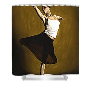 Elegant Dancer Shower Curtain by Richard Young