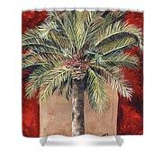 Elegant Palm Shower Curtain