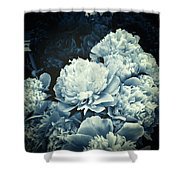 Elegant Peonies Shower Curtain