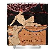 Elegies A Mytilene Shower Curtain