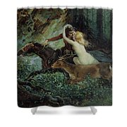 Elegy Of Bohemia Shower Curtain