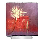 Element Earth Shower Curtain