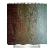Element Of Metal Shower Curtain