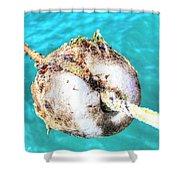Element Sea Shower Curtain