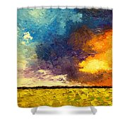 Element2 Shower Curtain