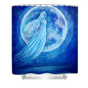 Elemental Earth Angel Of Water Shower Curtain