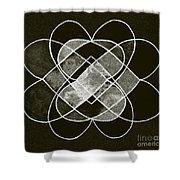 Elemetal Matrix Shower Curtain