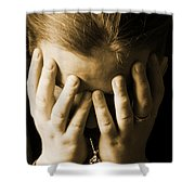 Elena Hands Shower Curtain