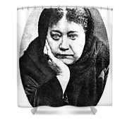 Elena Petrovna Blavatsky Shower Curtain