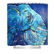 Elephant #1 Shower Curtain