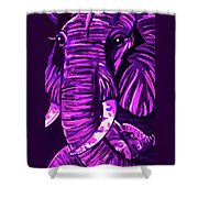 Elephant And Baby Shower Curtain
