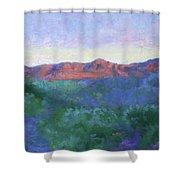 Elephant Back Mountain Shower Curtain