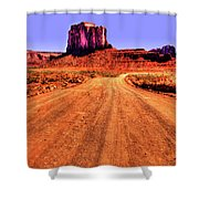 Elephant Butte Monument Valley Navajo Tribal Park Shower Curtain