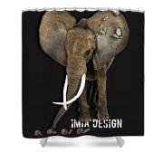 Elephant No 04 Shower Curtain