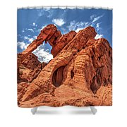 Elephant Rock, Valley Of Fire State Park, Nevada Shower Curtain