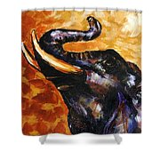 Elephant Song Shower Curtain