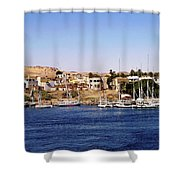 Elephantine Island Aswan Shower Curtain