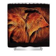 Elephant's Ear Shower Curtain