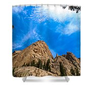 Elephant's Perch Shower Curtain