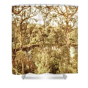 Elevated Country Shower Curtain