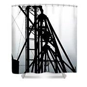 Elevator Shower Curtain